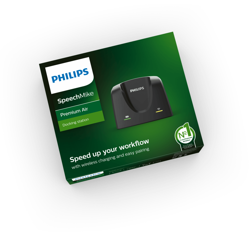 PHILIPS SpeechMike Premium Air Dockingstation