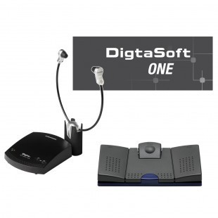 Grundig Digta Transcription Premium Kit 568 mit DigtaSoft One