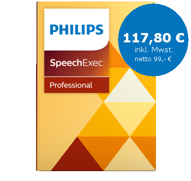 PHILIPS Speech Exec Pro Transcribe Upgrade, LFH 4501