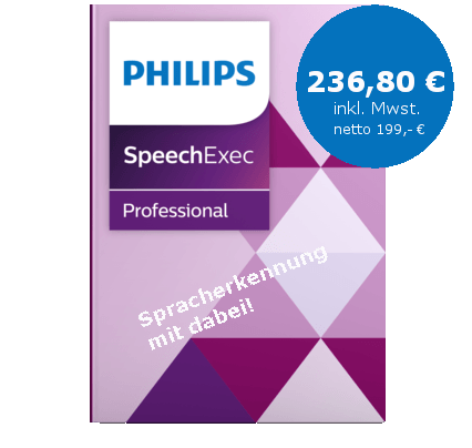 SpeechExec Pro Transcribe Upgrade Spracherkennung PSE 4510