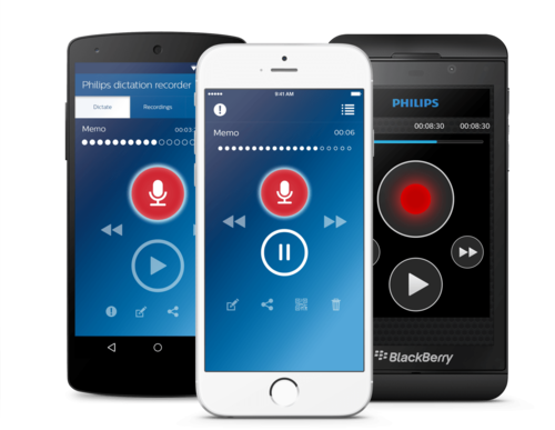 PHILIPS VOICERECORDER APP LFH 7400