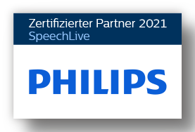 philips-dictation_certified-speechlive-partner_label_2021_rgb_de_Schatten